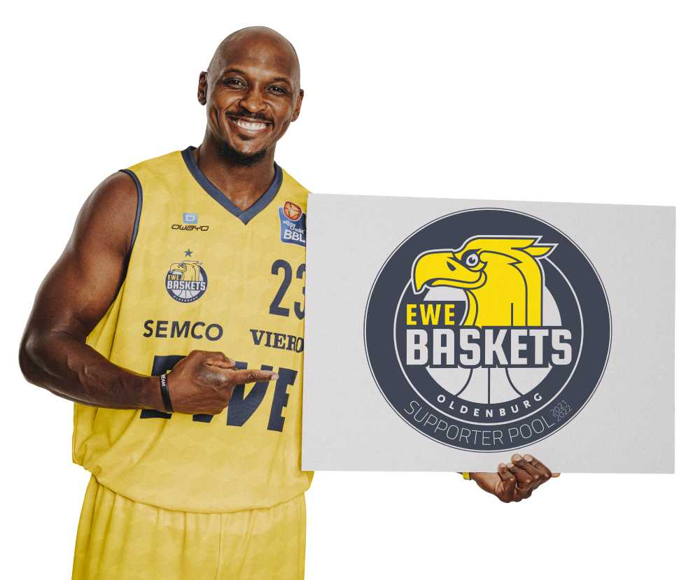 Supporter Logo der EWE Baskets